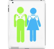 Gamer Couple iPad Case/Skin