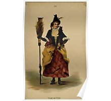 Fancy dresses described or What to wear at fancy balls by Ardern Holt 302 The Witch Poster
