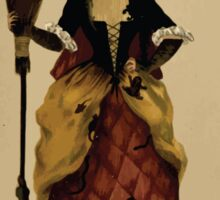 Fancy dresses described or What to wear at fancy balls by Ardern Holt 302 The Witch Sticker