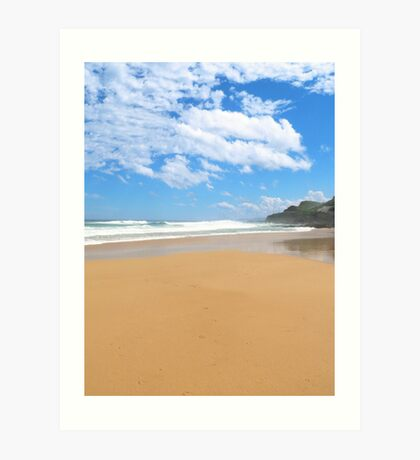 Newcastle Beach, NSW Art Print