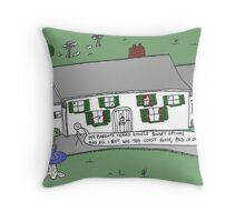 binary options news caricature Trading Google Throw Pillow