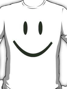 GREEN SMILEY FACE T-Shirt