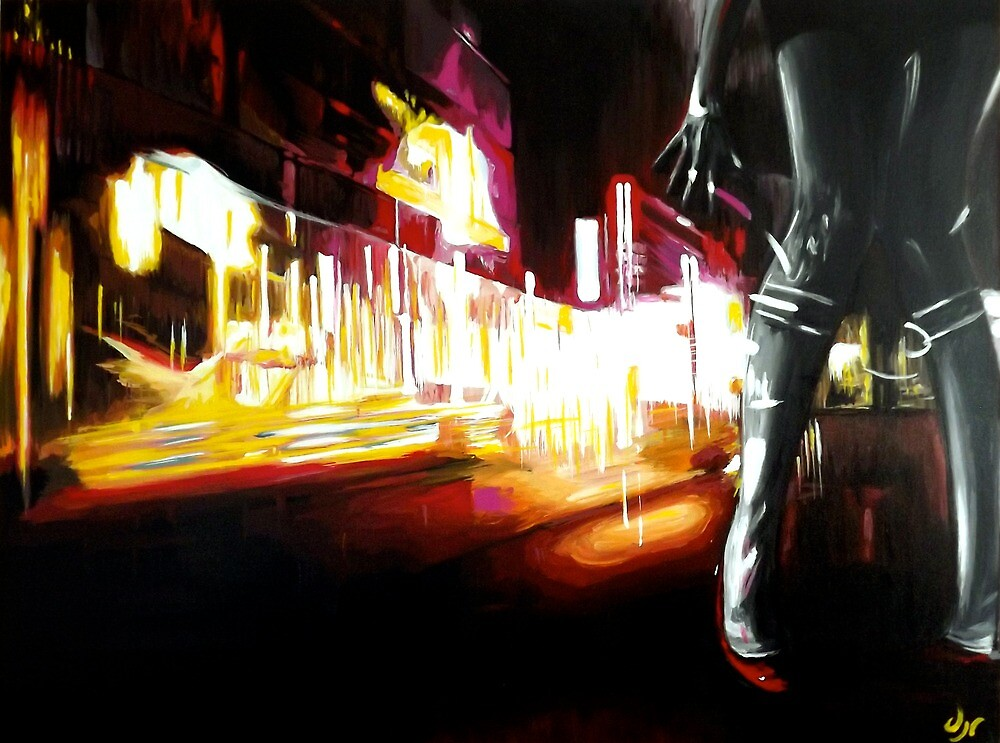 bright lights, red shoes by dave reynolds