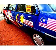 Malaysian Taxi Photographic Print