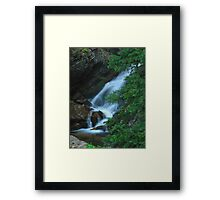 Hidden Cascades Framed Print