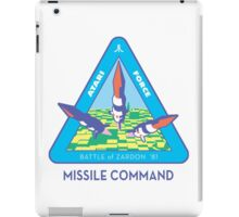 MISSILE COMMAND ATARI COLD WAR iPad Case/Skin