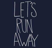 Let's Run Away x Snow Mountains Kids Tee