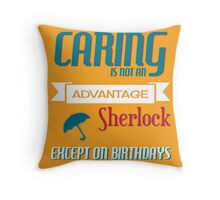 Birthday Caring Throw Pillow