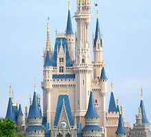 Cinderella's Castle by laurenb115