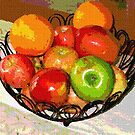 BOWL OF FRUIT.. by Terry Collett