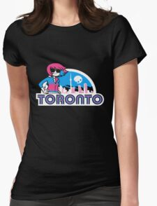 Scott Pilgrim - Toronto Womens Fitted T-Shirt
