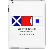 Myrtle Beach Nautical Flag iPad Case/Skin