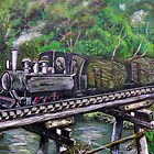 Sugar Cane Train - Tully, Queensland by bdimages
