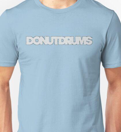 DonutDrums White Unisex T-Shirt