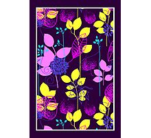 Foliage Lilac & Lemon [iPhone / iPod Case and Print] Photographic Print