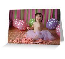 Cake Smash Greeting Card