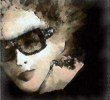 Increasingly dark lady by anaisanais