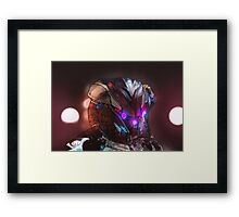 Pixel the robot. Framed Print