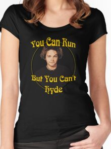 70s Show - You Can Run... Women's Fitted Scoop T-Shirt