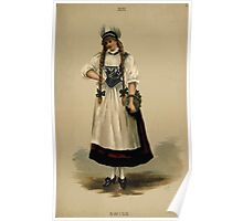 Fancy dresses described or What to wear at fancy balls by Ardern Holt 272 Swiss Poster