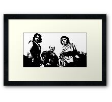 The Brute Squad Framed Print