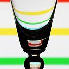 Stripey Glass by David W Bailey