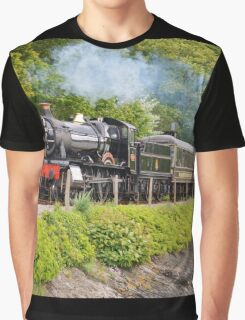 river side railway Graphic T-Shirt