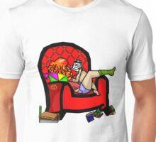 The Nerdy Bookworm Unisex T-Shirt