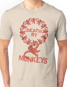 Death by 12 monkeys Unisex T-Shirt