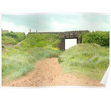 Askam Pier Bridge Poster