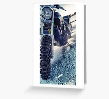 V-Max on Ice Greeting Card