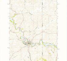USGS Topo Map Washington State WA Palouse 243070 1964 24000 by wetdryvac