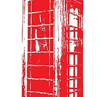 Vintage Telephone Booth by ashleyschex
