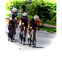 The difference between Riding a bike and Driving a bike Photographic Print