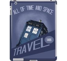 Travel Tardis iPad Case/Skin