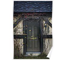 Vine Covered Doorway Poster