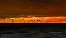 Angry skies at sunset 003 by Karl David Hill