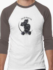 Black Schnauzer :: It's All About Me Men's Baseball ¾ T-Shirt