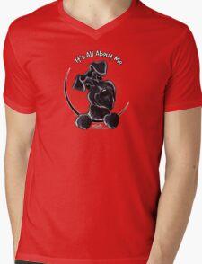 Black Schnauzer :: It's All About Me Mens V-Neck T-Shirt