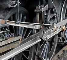 steam train by paullycoops