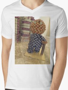Can Sculpture, Canstruction, Sculptures Made of Cans, New York City Mens V-Neck T-Shirt