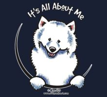 Samoyed :: It's All About Me One Piece - Long Sleeve