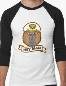 Hey Man Baboon Men's Baseball ¾ T-Shirt