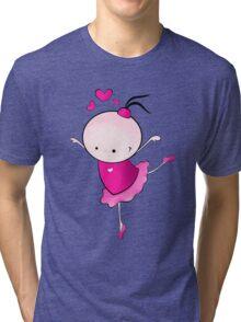 lovely Ballet dance 1 Tri-blend T-Shirt