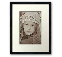 Vintage Eyes Framed Print