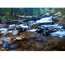 Copeland Falls Rocky Mountain National Park Photographic Print