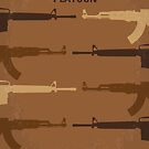 No115 My Platoon minimal movie poster by Chungkong