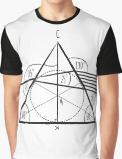 Pink Floyd - The Dark Side Of The Math Graphic T-Shirt