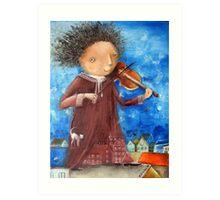 Fiddler Art Print