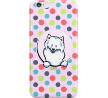 Samoyed Seeing Spots iPhone Case/Skin